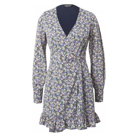 Fashion Union Sukienka 'Trayley' fioletowy / mieszane kolory