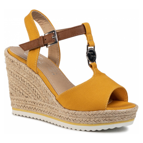 Espadryle TOM TAILOR - 8090214 Yellow
