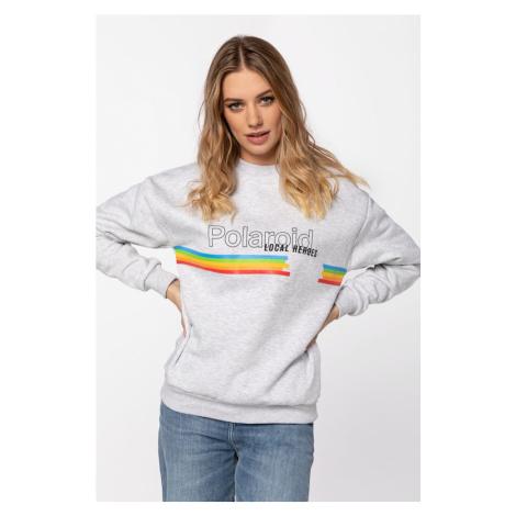 Bluza Local Heroes Classic Polaroid Sweatshirt Lhpls0003 Grey