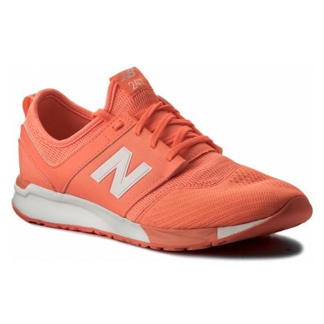 Sneakersy NEW BALANCE - KL247C7G Pomarańczowy