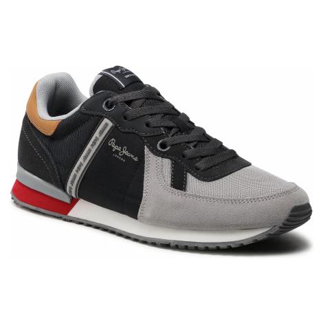 Sneakersy PEPE JEANS - Tinker Zero 21 PMS30725 Grey 945