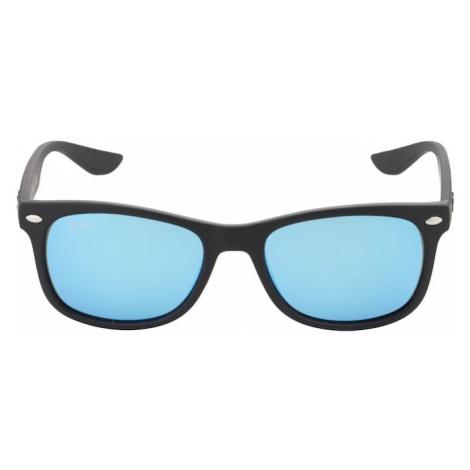 Ray-Ban Okulary przeciwsłoneczne 'JUNIOR NEW WAYFARER' niebieski / czarny