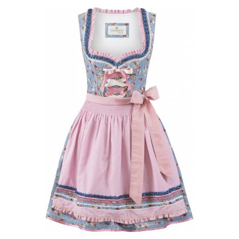 STOCKERPOINT Dirndl 'Talita' różowy / mieszane kolory / niebieski