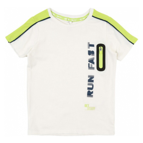 NAME IT Koszulka biały / jabłko / czarny / niebieski