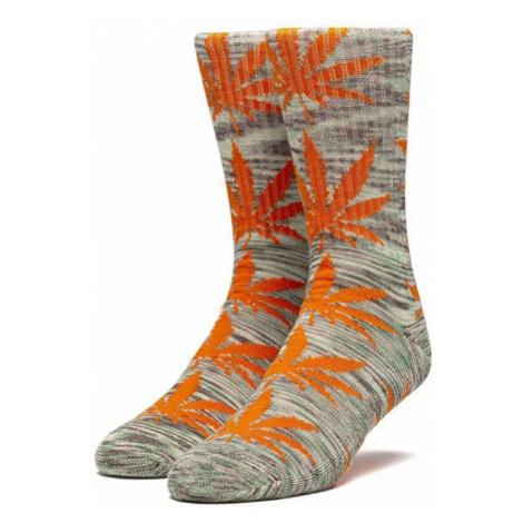 Skarpetki HUF Plantlife Melange Sock SK00444 ELECTRIC ORANGE
