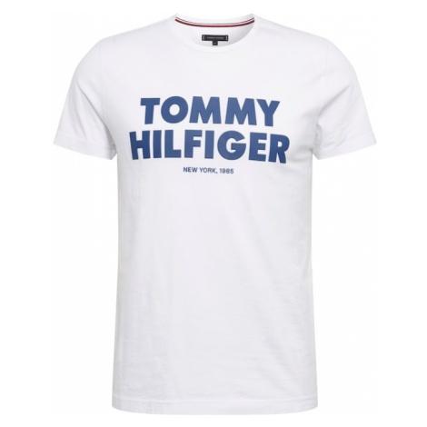 TOMMY HILFIGER Koszulka niebieski / biały
