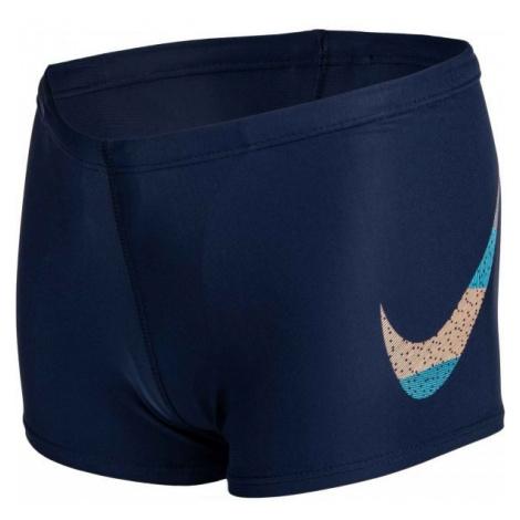 Nike MASH UP niebieski S - Kąpielówki chłopięce