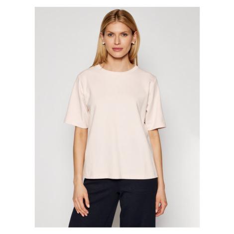 Max Mara Leisure T-Shirt Leda 39410716 Różowy Relaxed Fit