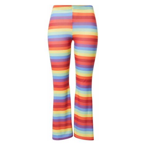 Missguided Spodnie 'Pride Rainbow' mieszane kolory