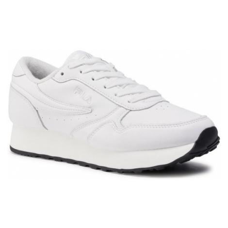 Fila Sneakersy Orbit Zeppa L 1010311.85E Biały