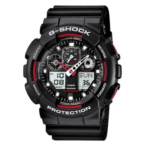Zegarek G-SHOCK - GA-100-1A4ER Black/Black Casio