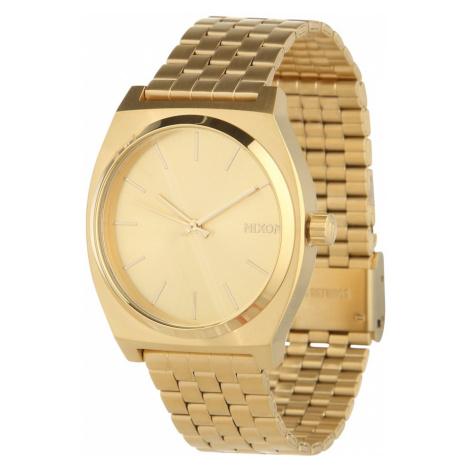 Nixon Zegarek analogowy 'Time Teller' złoty