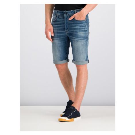 G-Star RAW Szorty jeansowe D-Staq D10064-8968-A572 Granatowy Slim Fit