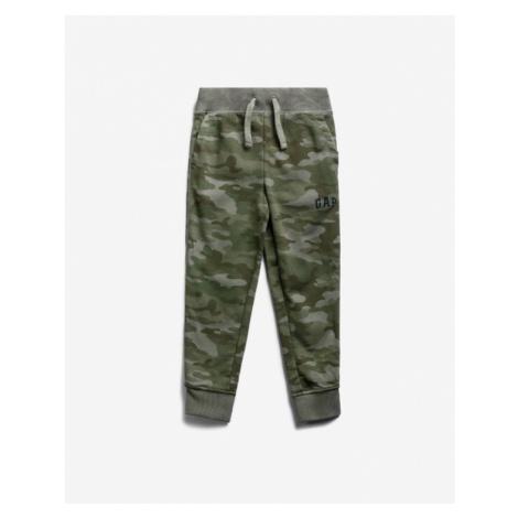 GAP Spodnie dresowe dziecięce Zielony