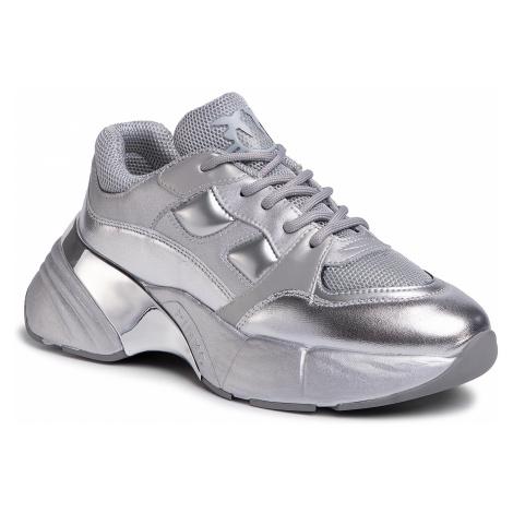 Sneakersy PINKO - Rubino 1 Sneaker 20201 PRR 1N20CC. Y5ZU Silver ZZF