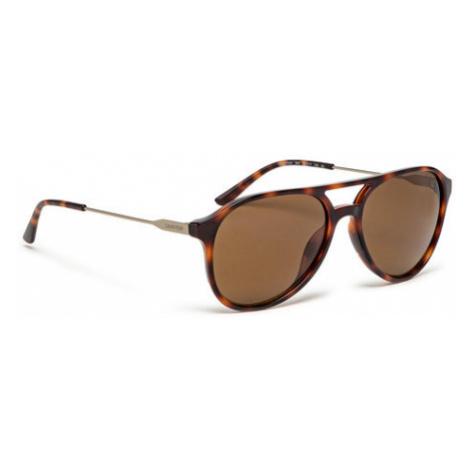 Calvin Klein Jeans Okulary przeciwsłoneczne CK20702S Brązowy