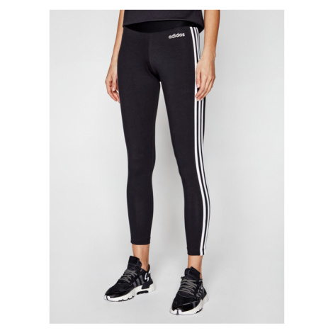 Adidas Legginsy Essentials 3-Stripes DP2389 Czarny Extra Slim Fit
