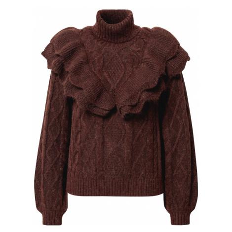 Y.A.S Sweter brązowy