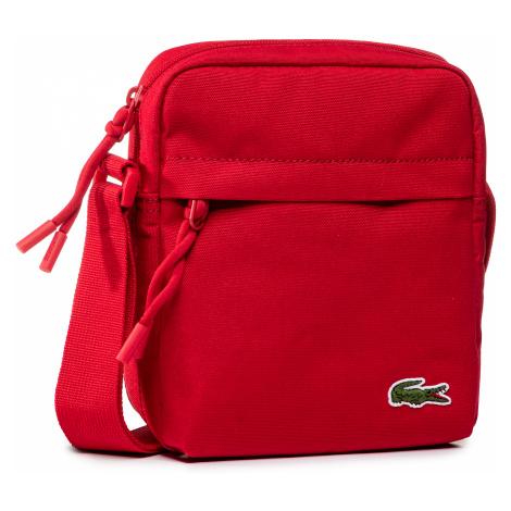 Saszetka LACOSTE - Vertical Camera Bag NH2102NE Tango Red
