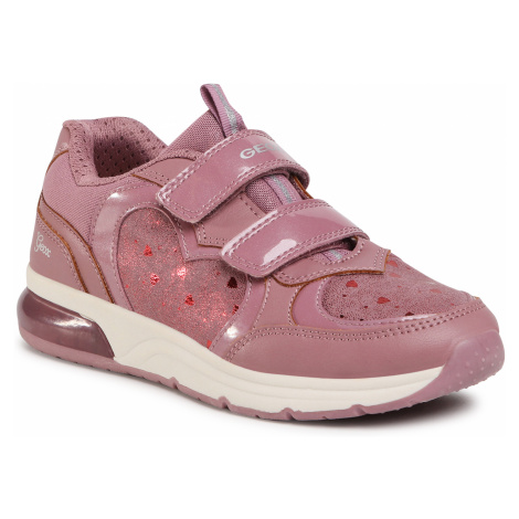 Sneakersy GEOX - J Spaceclub G. C J048VC 0BCDH C8007 S Dk Rose