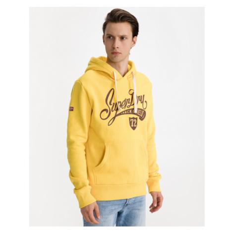 SuperDry Collegiate Graphic Bluza Żółty