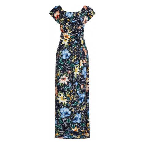 Mela London Sukienka niebieska noc