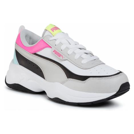 Buty PUMA - Cilia Mode 371125 08 White/Gray/Black/Pink/Blue