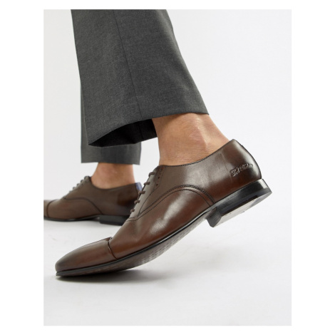 Ted Baker Murain oxford shoes in brown leather