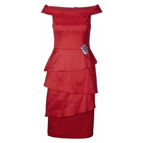 Heine Sukienka koktajlowa czerwony
