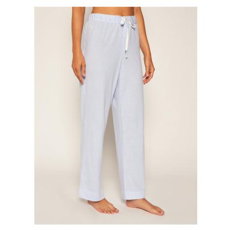 Lauren Ralph Lauren Spodnie piżamowe ILN81794 Niebieski