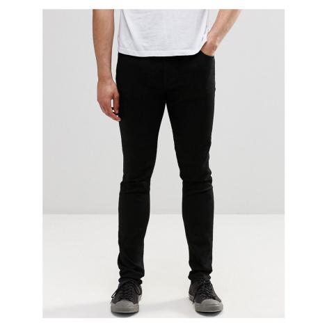 Weekday Form skinny Jeans Black
