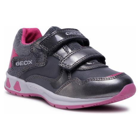Sneakersy GEOX - B Pavlis G. A B041SA 0NFHI C1E9F S Graphite/Dk Grey