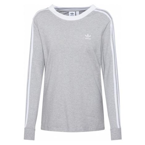 ADIDAS ORIGINALS Koszulka biały / nakrapiany szary