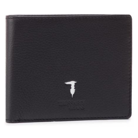 Trussardi Duży Portfel Męski Wallet Credit Card Coin 71W00004 2P000185 Czarny