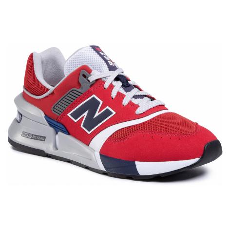 Sneakersy NEW BALANCE - MS997LOR Czerwony