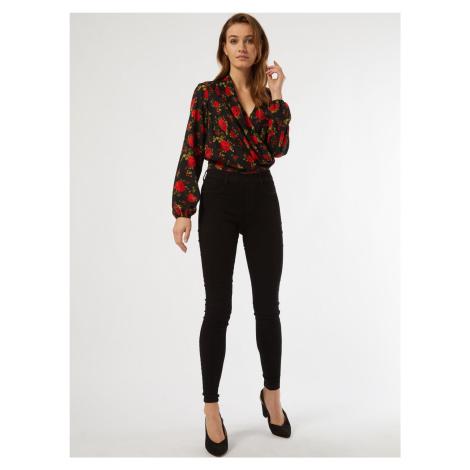 Bluzka w czarne kwiaty Dorothy Perkins