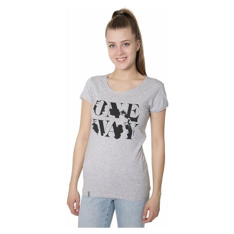 koszulka 4F H4L17-TSD013 - Light Gray Melange