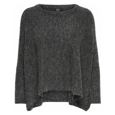 ONLY Sweter oversize ciemnoszary