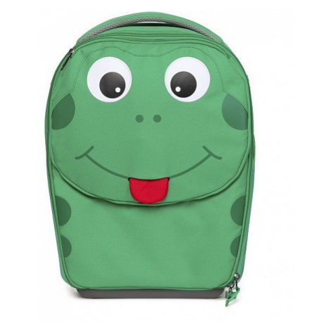 walizka Affenzahn Finn Frog - Green/Black/Red