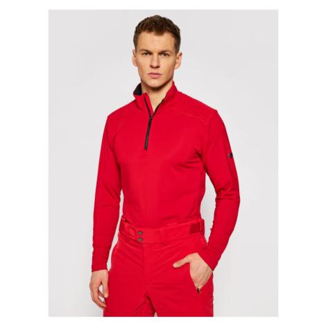 Descente Koszulka techniczna Piccard DWMQGB23 Czerwony Regular Fit