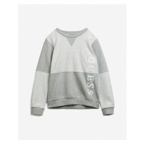 Guess Logo Bluza dziecięca Szary
