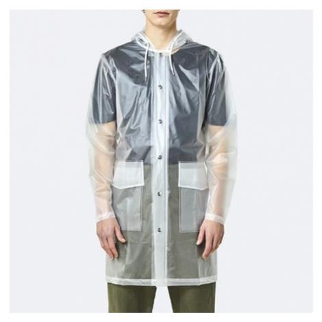Płaszcz Rains Transparent Hooded Coat 1269 FOGGY WHITE