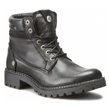 Wrangler Trapery Creek Leather WL162501 Czarny