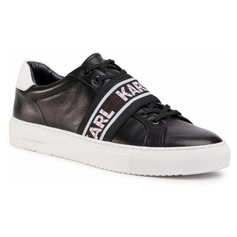 Sneakersy KARL LAGERFELD - KL51035 Black Lthr
