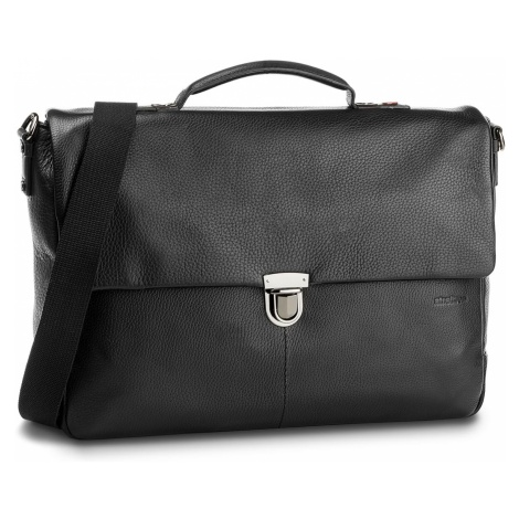 Torba na laptopa STRELLSON - Garret 4010002346 Black 900