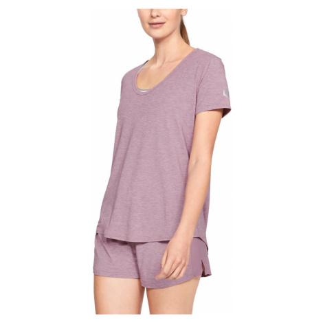 Under Armour Athlete Recovery Sleepwear™ Koszulka do spania Różowy Fioletowy