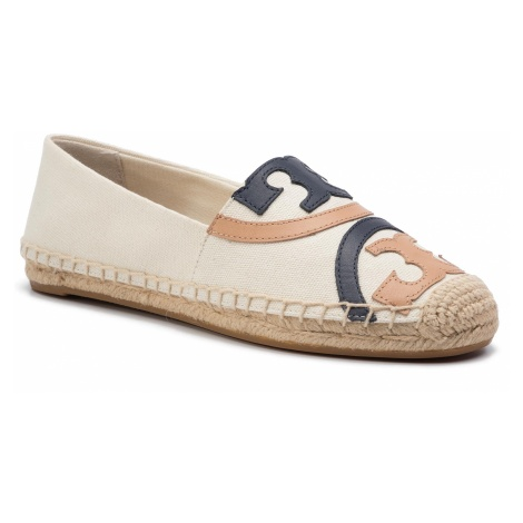 Espadryle TORY BURCH - Poppy Espadrille 57291 Powder/Multi 261