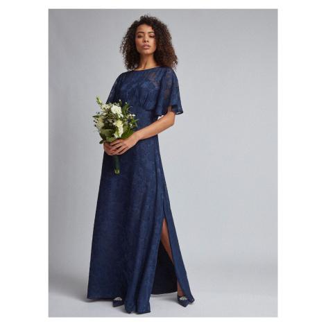 Dorothy Perkins niebieska sukienka maxi