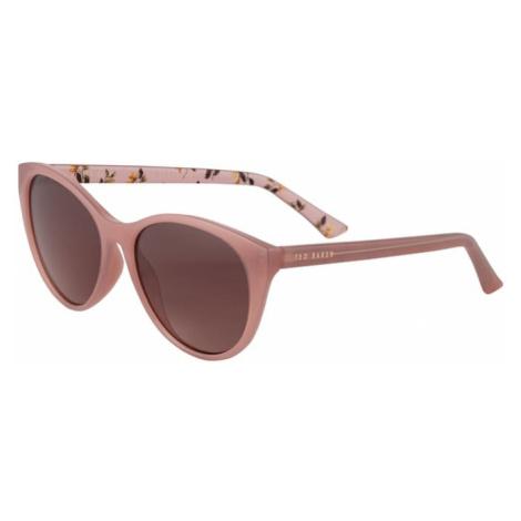 Ted Baker Okulary przeciwsłoneczne różowy pudrowy