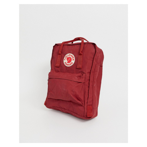 Fjallraven Kanken Backpack In Red Fjällräven